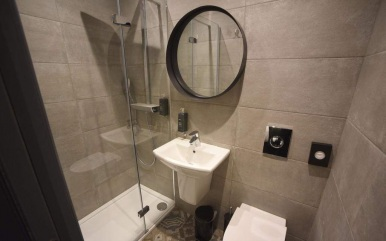 Bathroom at The Pack and Carriage