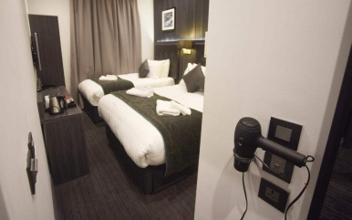 Triple room at The Pack and Carriage